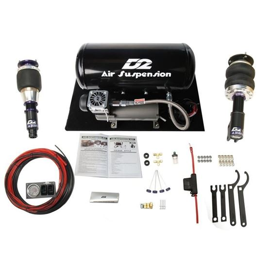 2012-2017 Toyota Camry, SE/XSE ONLY Air Struts with D2 Basic  Management(D-TO-16-1-ARB)